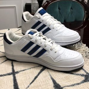 SALE WAS $55 11.5 ADDIDAS Neo Label white blue